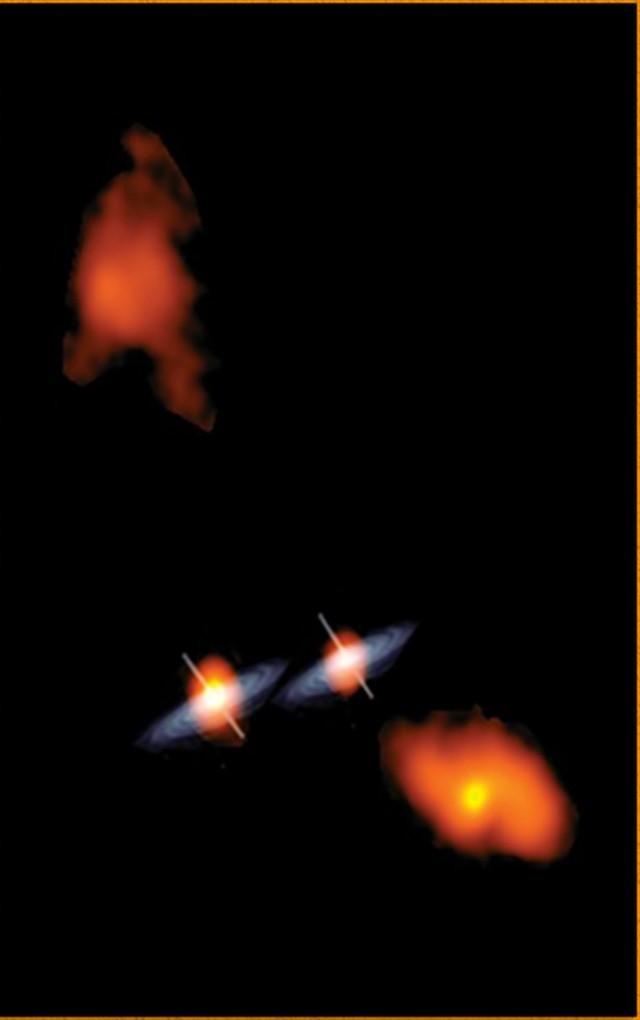 trou noir VLBA Map