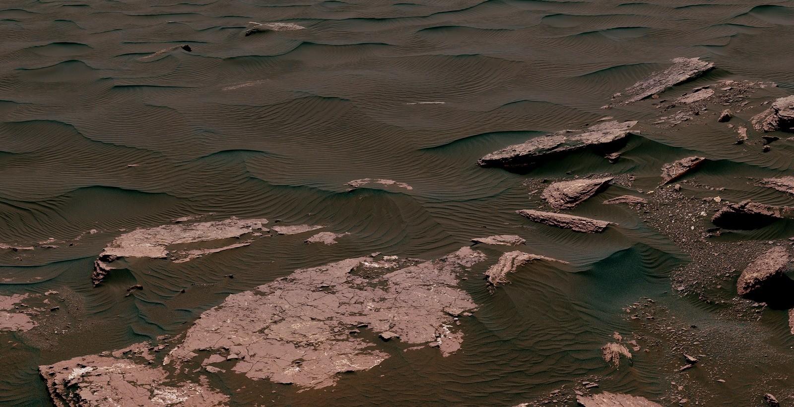 Le sol de Mars semble beaucoup trop toxique pour les microbes de la Terre
