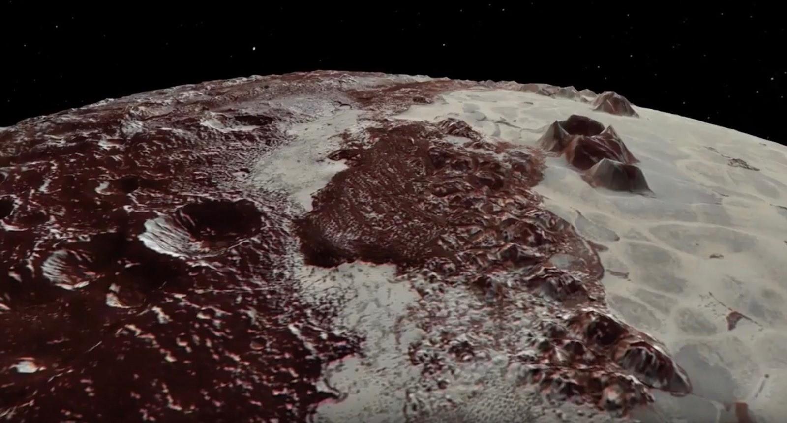 Deux vidéos et deux nouvelles cartes de Pluton et sa lune Charon pour le deuxième anniversaire de leur survol