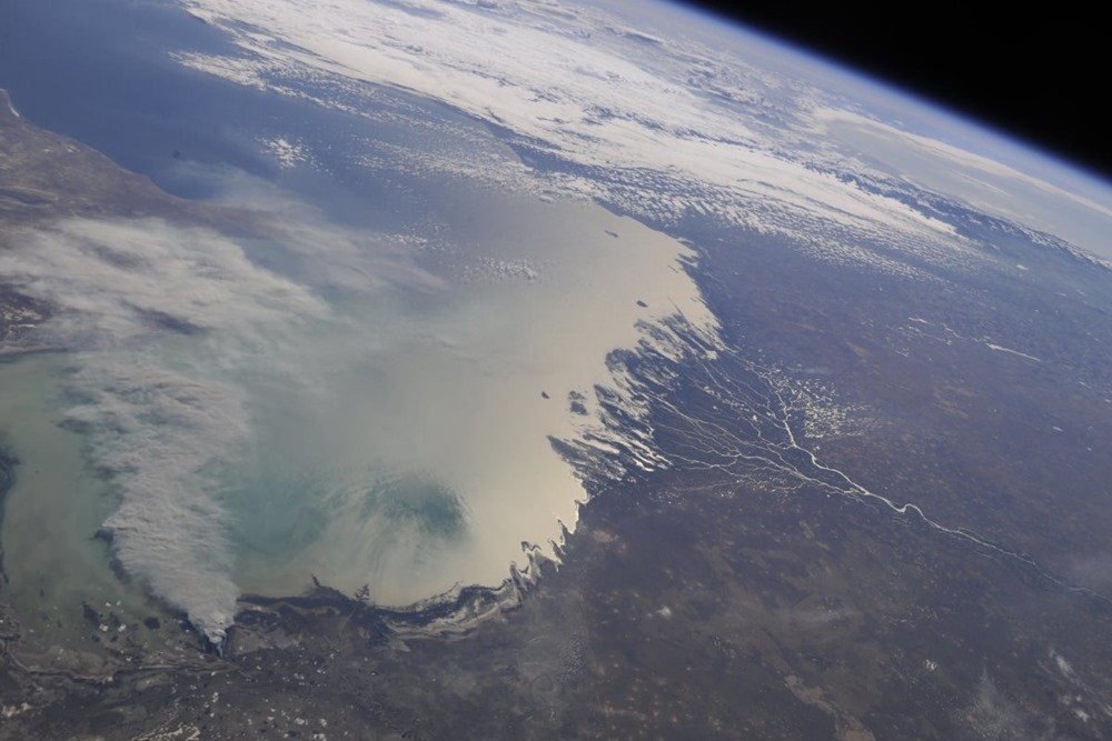 Devinez ce qui fait disparaître la mer Caspienne ?