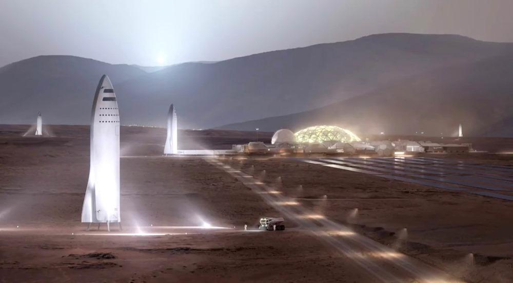 SpaceX2 Mars 17
