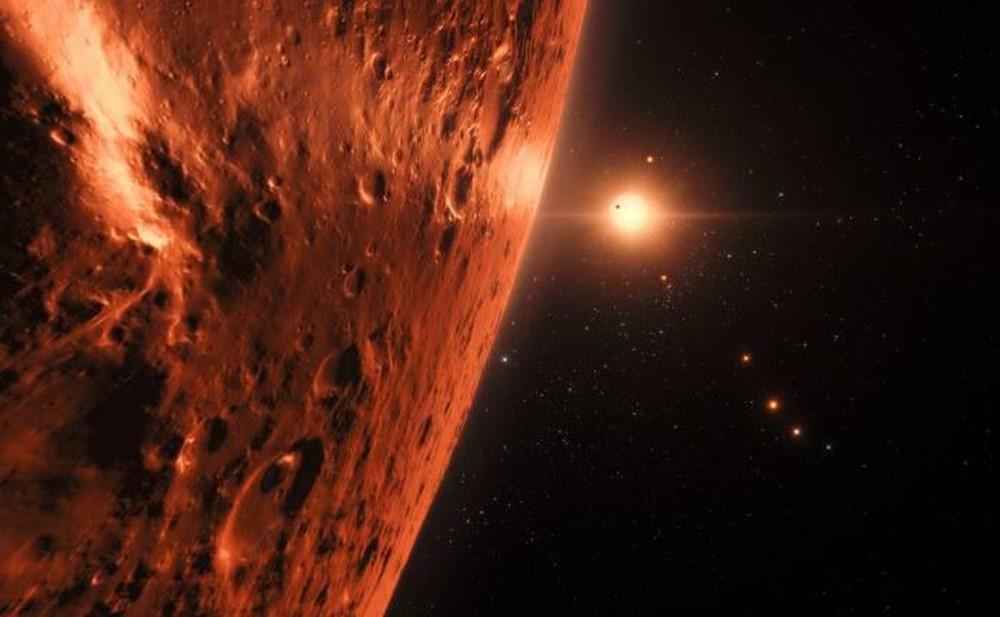 Il se pourrait que certaines planètes du système TRAPPIST-1 détiennent de l'eau à l'état liquide
