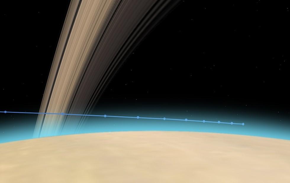 Suivez en direct avec le Guru la rentrée kamikaze de la sonde Cassini dans l'atmosphère de Saturne (Live)