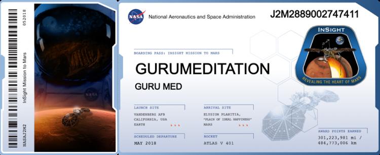 Envoyez votre nom sur Mars à l'aide de l'atterrisseur InSight de la NASA