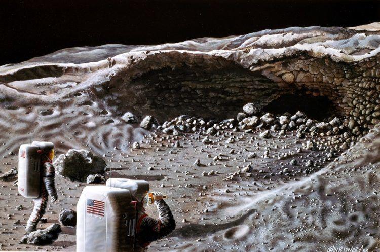 L'emplacement parfait pour une future base lunaire serait dans un tunnel de lave déjà repéré