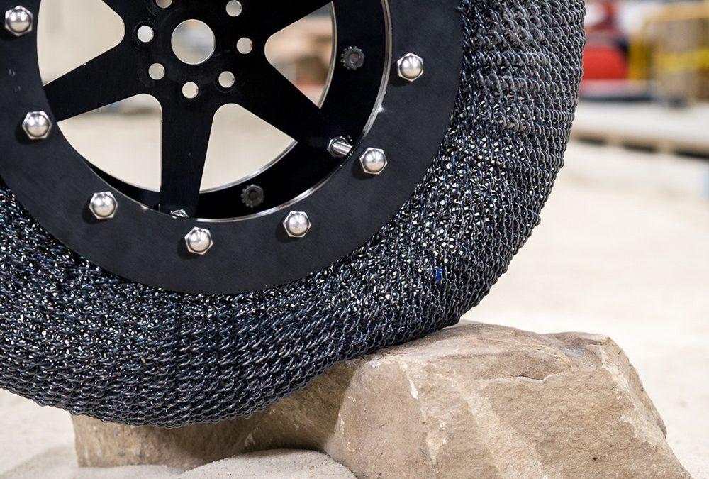 La NASA réinvente une nouvelle fois le pneu martien indestructible