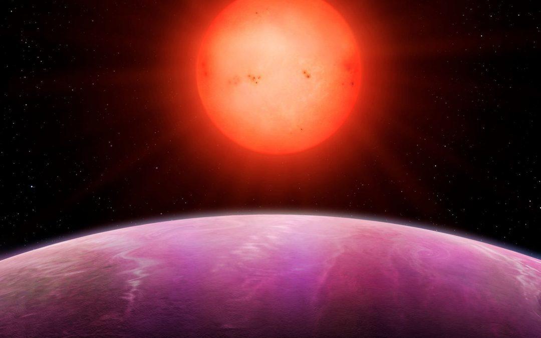 Une planète bien trop grosse pour sa si petite étoile