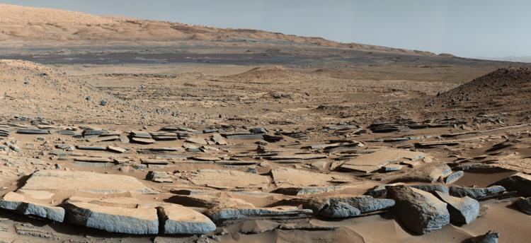Des microorganismes seraient capable de survivre des millions d'années à l'hostilité de l'environnement martien