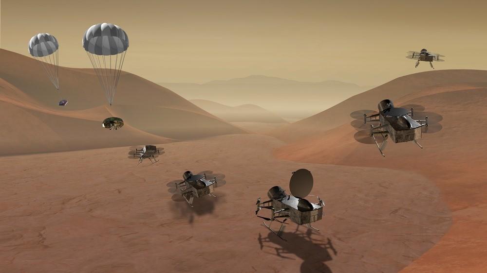 La NASA officialise son désir de voler sur la grande lune Titan et de retrouver une comète que nous connaissons bien