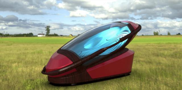 """Une """"machine à suicide"""" permettant aux Australiens de quitter confortablement la vie"""