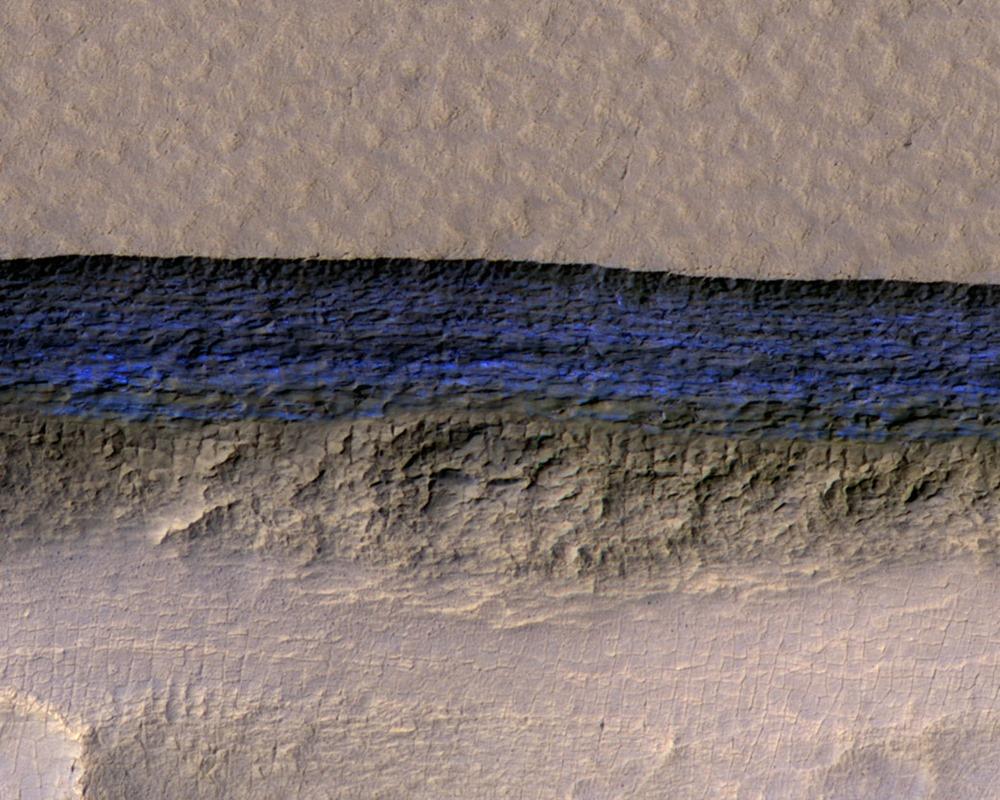 Escarpement-glace-Mars-MRO