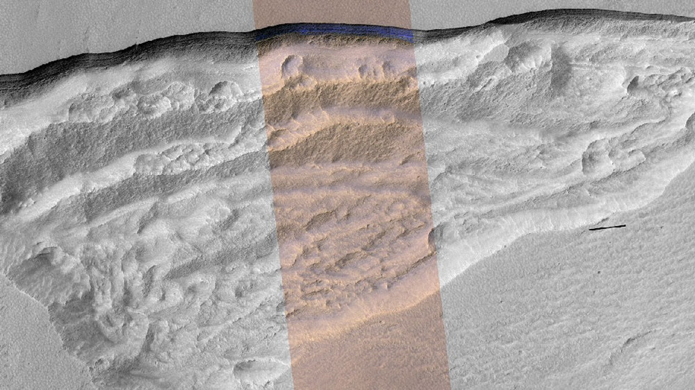 Escarpement2-glace-Mars-MRO