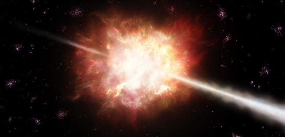 Des sursauts de rayon gamma recrées en laboratoire