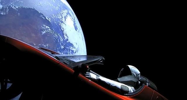 Space X-Elon Musk Tesla MARS2
